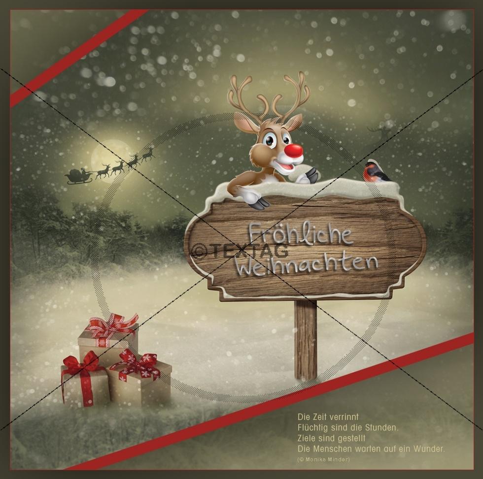 weihnachts e card mit spruch ohne werbung kaufen. Black Bedroom Furniture Sets. Home Design Ideas