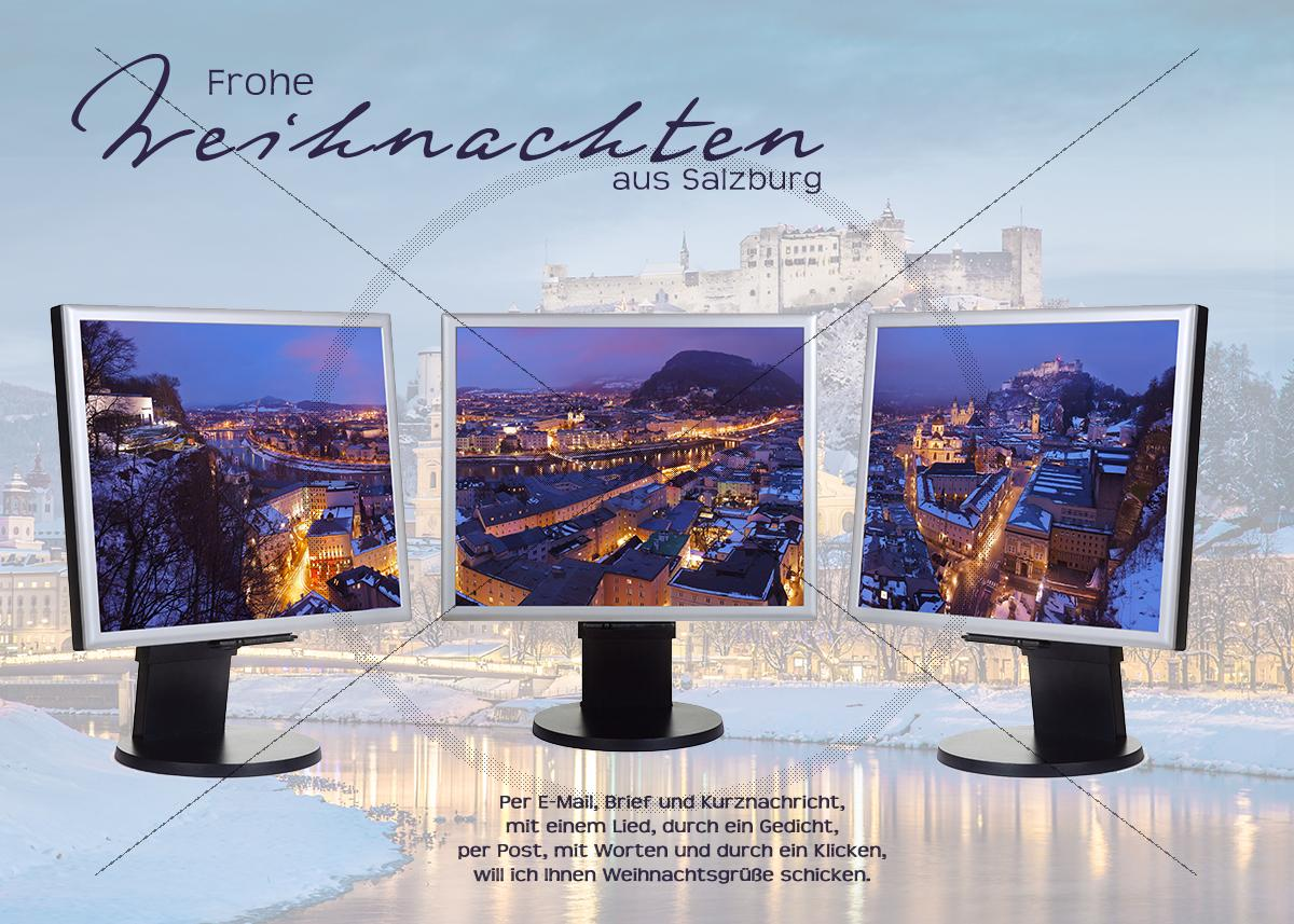 e card weihnachten in salzburg mit pc bildschirm ohne werbung. Black Bedroom Furniture Sets. Home Design Ideas