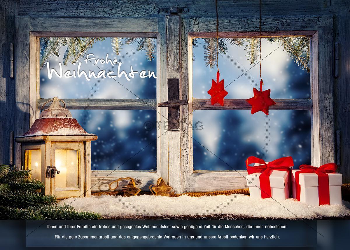 nostalgische weihnachts ecard f r kunden gesch ftliche ecard. Black Bedroom Furniture Sets. Home Design Ideas