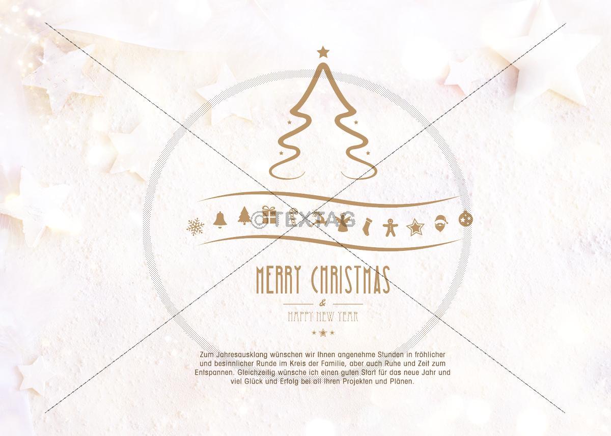 edle gesch ftliche weihnachts ecard mit spruch. Black Bedroom Furniture Sets. Home Design Ideas