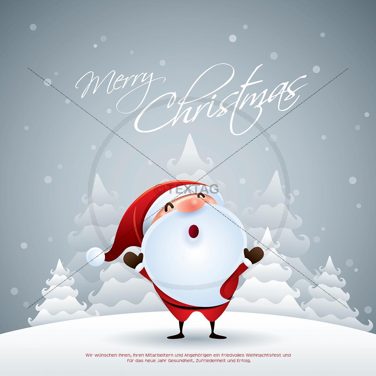 lustige gesch ftliche weihnachts ecard mit weihnachtsmann