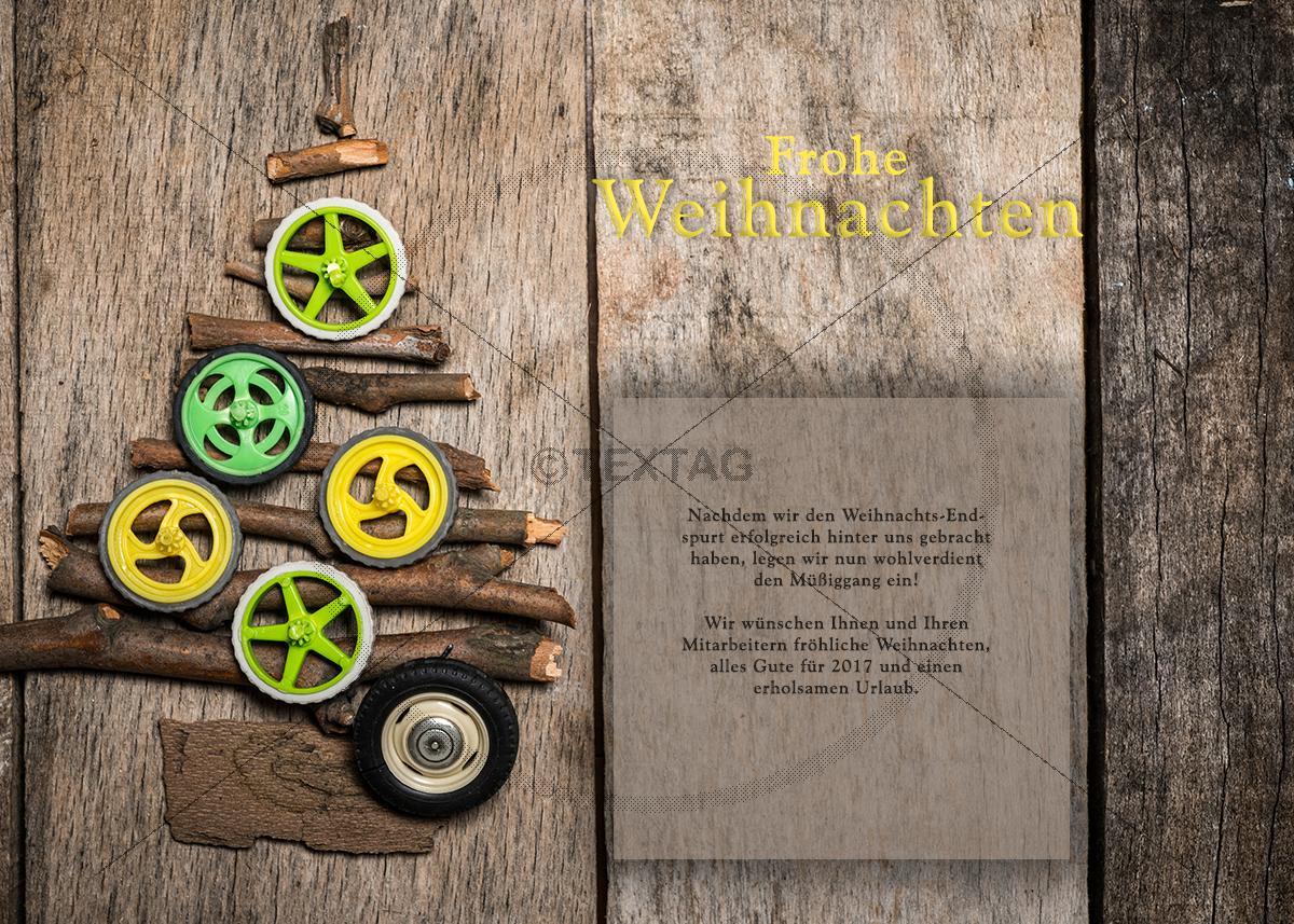 weihnachts e card f r reifenh ndler kfz firmen. Black Bedroom Furniture Sets. Home Design Ideas