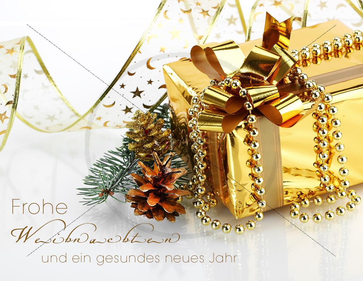 elegante goldene weihnachts e card mit sofortdownlod. Black Bedroom Furniture Sets. Home Design Ideas