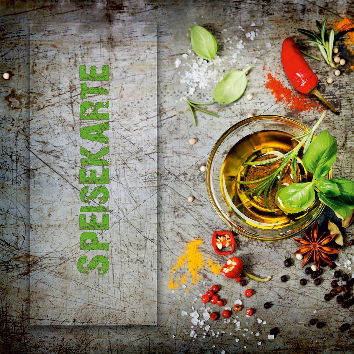 Deckblatt: Deckblatt: Speisekarte Vorlage, Sofort downloaden und drucken