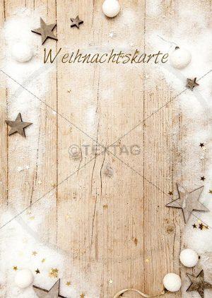 Tageskarte für Weihnachten zum Selbstbeschriften, doc. Designvorlage DIN A4 (108)
