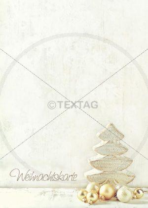 Deckblatt: Tageskarte für Weihnachten zum Selbstschriften, doc. Designvorlage DIN A4 (110)