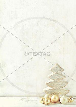 Innenseite: Tageskarte für Weihnachten zum Selbstschriften, doc. Designvorlage DIN A4 (110)