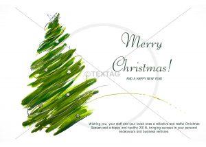 Weihnachts E-Card mit Spruch auf englisch NSL-2018-00268