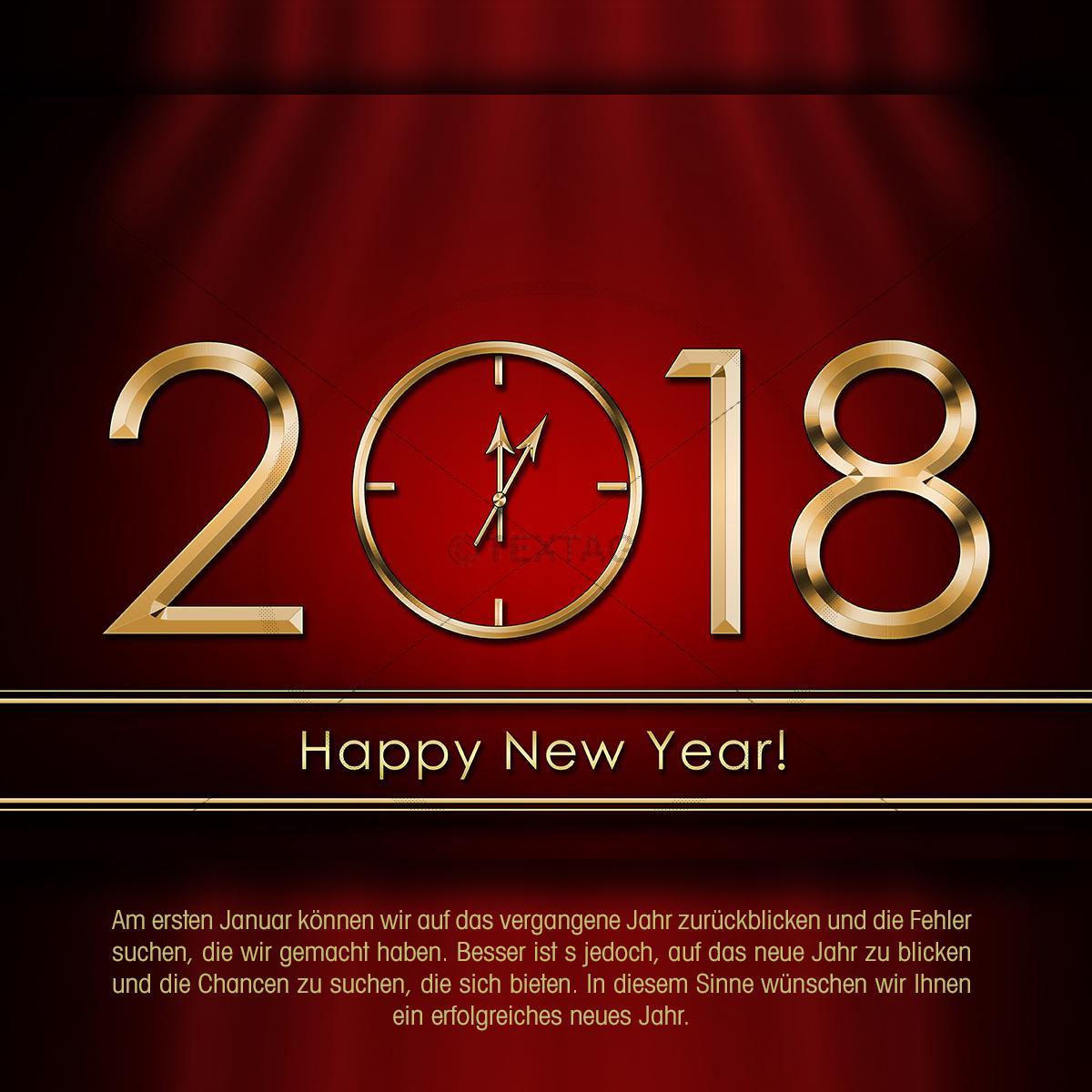Neue Jahre Ecard
