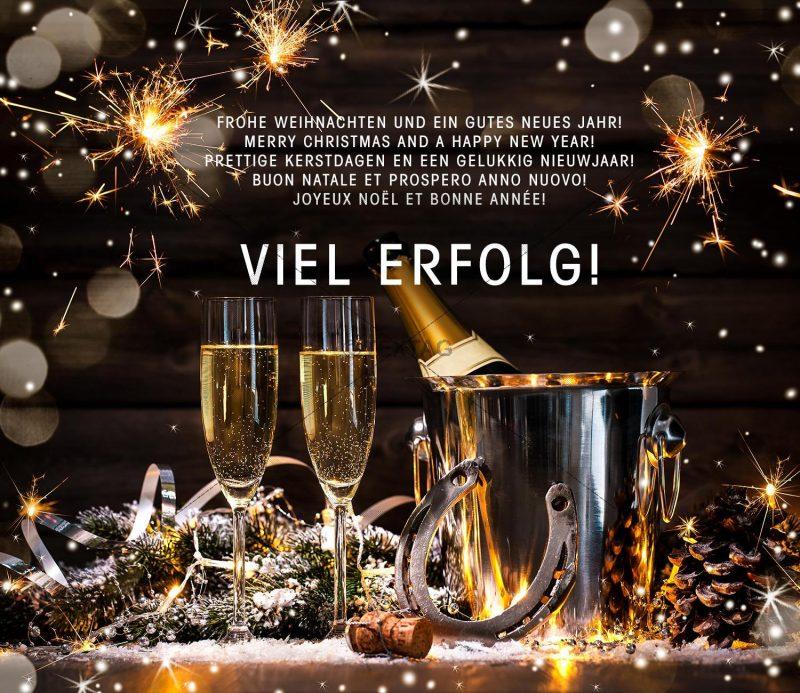 E-Card ohne Werbeeinschaltung - E-Card - Silvester Karte, Weihnachtsgrußkarte NSL-2018-00162