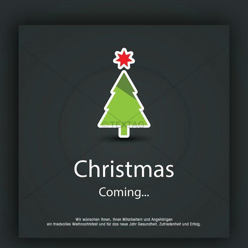 Weihnachtsgrußkarte für Kunden. eCard mit Spruch (198) NSL-2018-00198