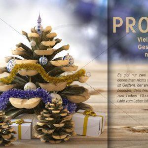 E-Card: Glückwunschkarte Prosit 2018 NSL-2018-00276