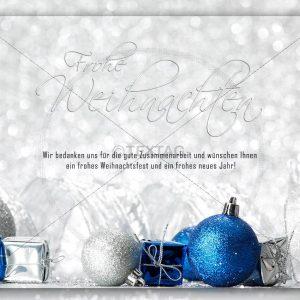 extravagante Weihnachtskarte • E-Card (283)