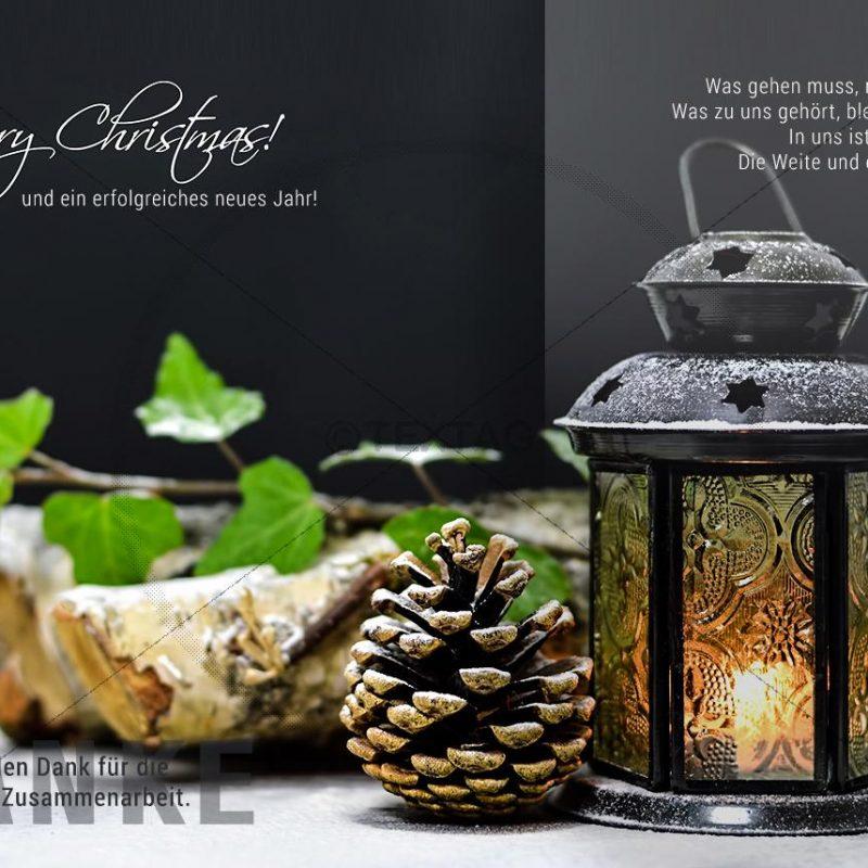 nostalgische Weihnachts E-Card für Geschäftskunden (292)