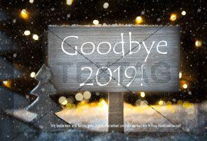 Goodbye 2019 - Silvester-E-Card, werbefrei online kaufen NSL-2019-00124