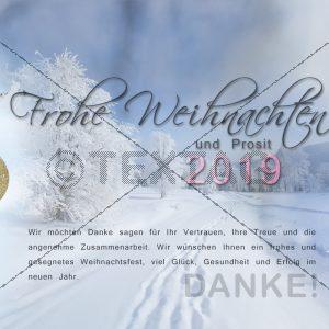 E-Card - Elektronische Weihnachtskarte ohne Werbung kaufen NSL-2018-00102