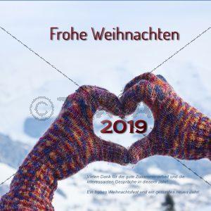 E-Card - Elektronische Weihnachtskarten ohne Werbung NSL-2018-00134