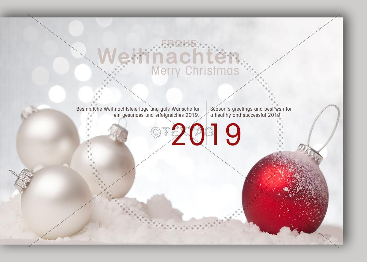 Extravagente Weihnachts E Card Mit Spruch In Deutsch Englisch