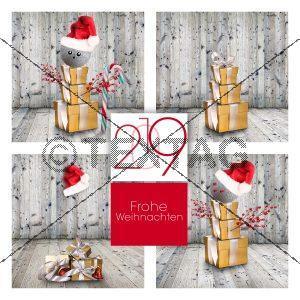 witzige eCard für Weihnachten & Silvester Firmen. Ohne Werbung (0114)