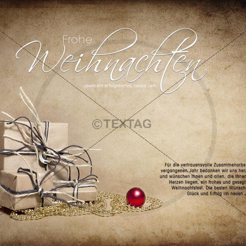 nostalgische Weihnachtskarte E-Card für Geschäftskunden (317)