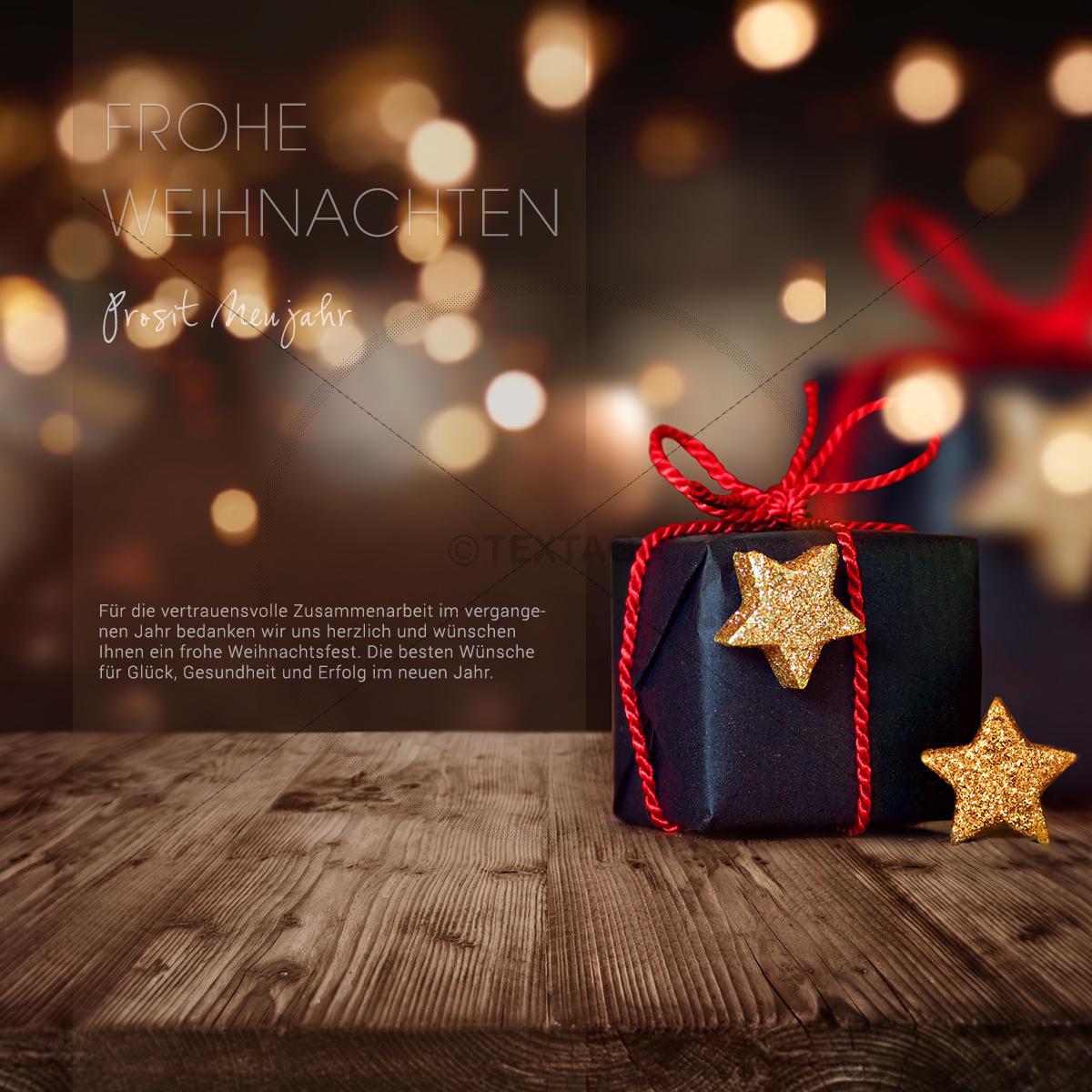 digitale weihnachts e card in bronze mit schwarzem. Black Bedroom Furniture Sets. Home Design Ideas