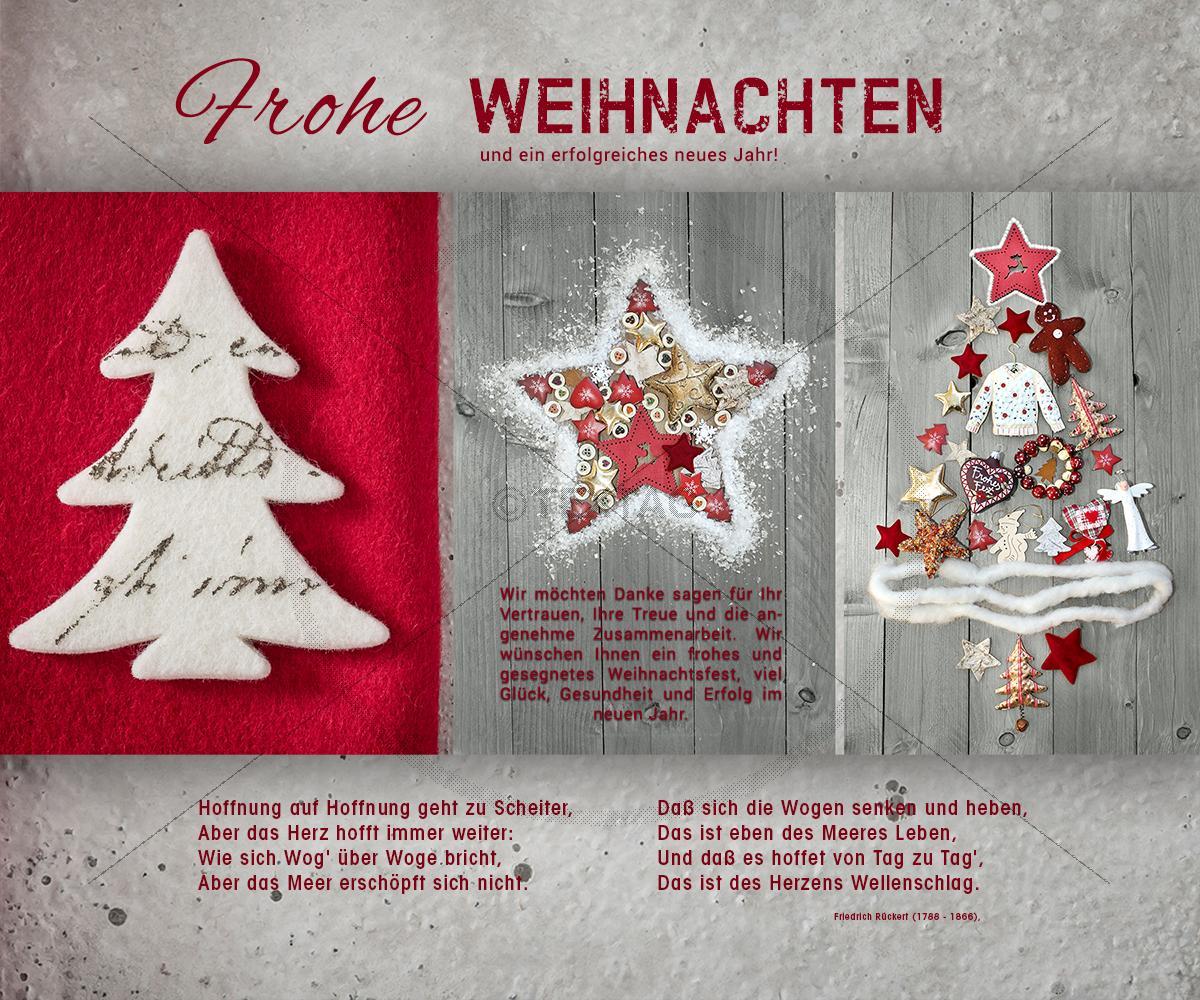 nostalgische weihnachtskarte e card f r gesch ftskunden in. Black Bedroom Furniture Sets. Home Design Ideas