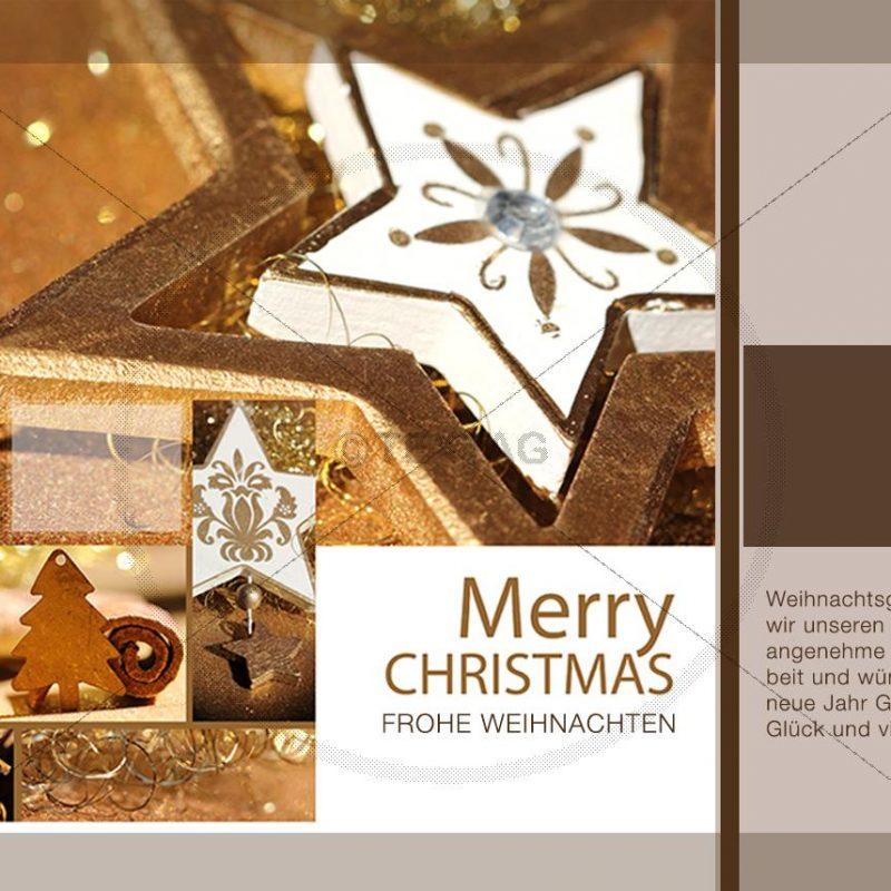 elegante Weihnachts E-Card NSL-2019-00294
