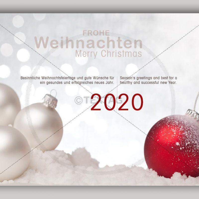 extravagente Weihnachts E-Card mit Spruch in deutsch & englisch NSL-2019-00267