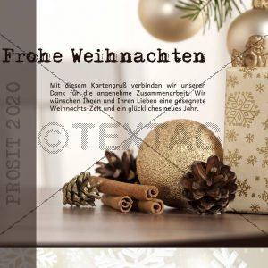 E-Card - Werbefrei Weihnachtskarte (0110)