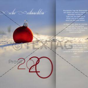 moderne Weihnachts-E-Card mit Spruch, ohne Werbung NSL-2019-00141