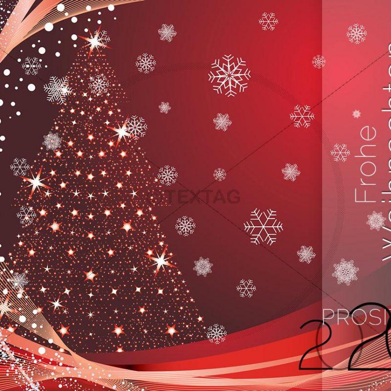geschäftliche Weihnachts- & Neujahrs-eCard NSL-2019-00203