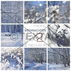 winterliche, digitale Weihnachts E-Card & Neujahrswünsche NSL-2019-00262