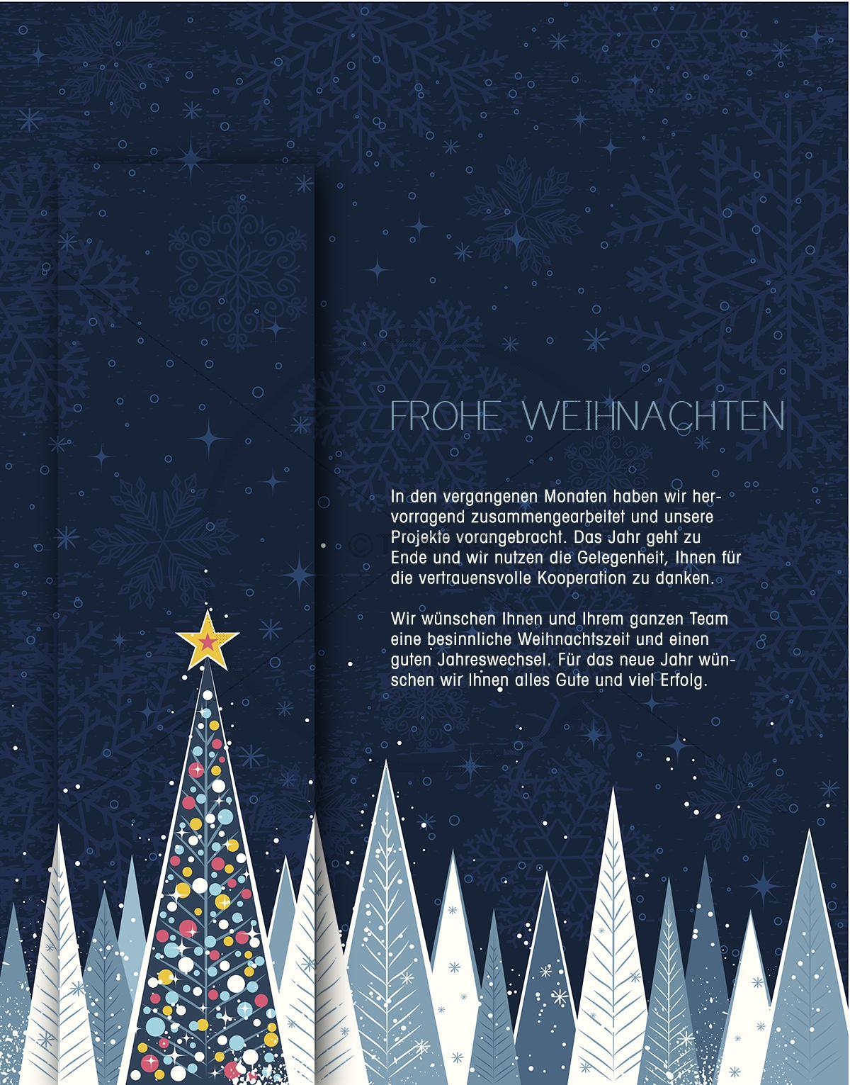 geschäftliche Weihnachts eCard für Kunden (355)