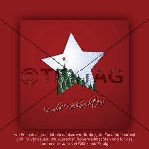 edle, geschäftliche Weihnachts eCard für Kunden, ohne Werbung (358) NSL-2018-00358