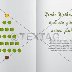 geschäftliche Weihnachts eCard für Kunden (360)
