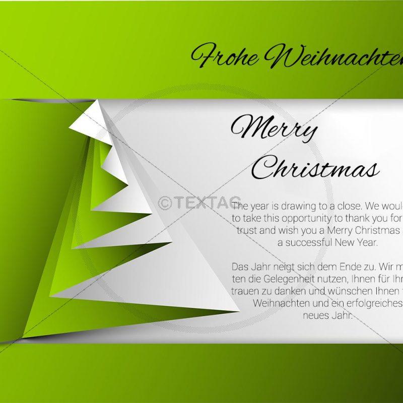 geschäftliche Weihnachts eCard, mit Spruch deutsch/englisch (362)