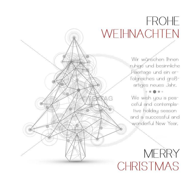 geschäftliche Weihnachts eCard, mit Spruch deutsch/englisch (363)