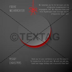 geschäftliche Weihnachts eCard, mit Spruch deutsch/englisch (364)