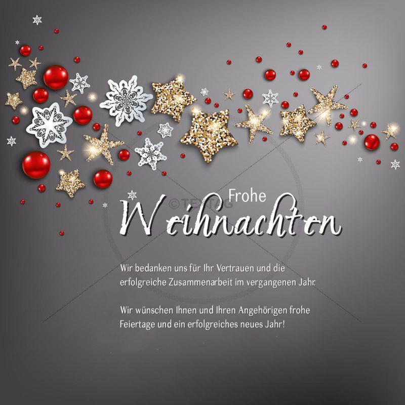 geschäftliche Weihnachts eCard ohne Werbung (367)