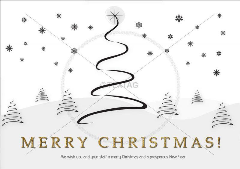 geschäftliche Weihnachts eCard, Spruch auf englisch (369)