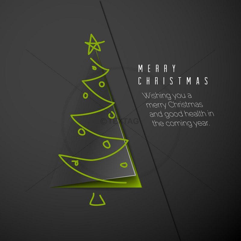 extravagante geschäftliche Weihnachts eCard, Spruch auf englisch (372)