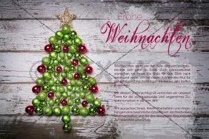 Weihnachts- eCard, geschäftlich, ohne Werbung (375)