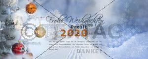 E-Card - Elektronische Weihnachtskarte ohne Werbung kaufen NSL-2019-00102