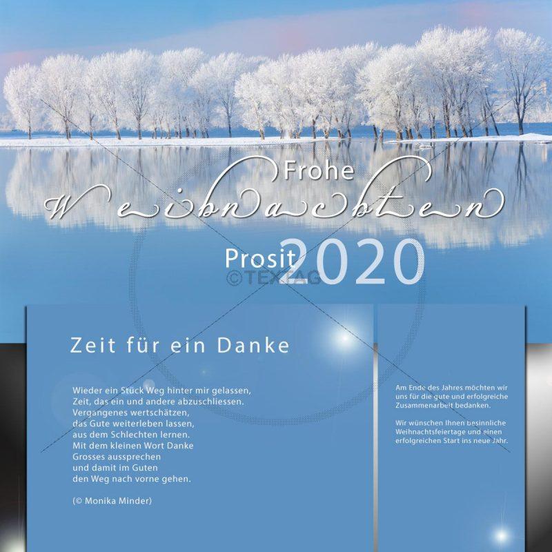 Stillvolle Neujahrs-e-Card, geschäftlich mit Spruch, ohne Werbung, NSL-2019-0119