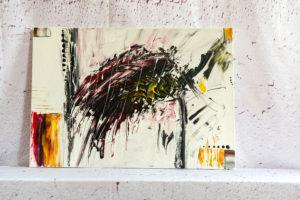 Wandbild Abstraktes Bild auf Leinwand - Handgemalt Abstrakte Gemälde moderne Malerei, Kunstgalerie für abstrakte Gemälde, abstrakte Wandbilder, Abstrakte Bilder auf Leinwand