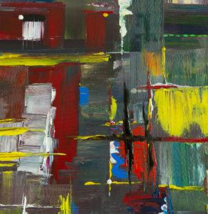 """Abstraktes Wandbild - Acryl Gemälde - """"MIX"""" Unikat - 154"""