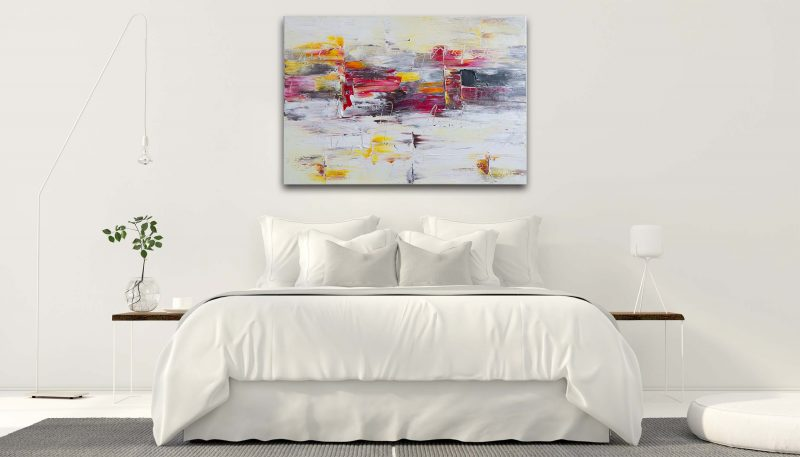 """Abstraktes Gemälde """"COLOR"""" Unikat (159) PO159-Abstract-Acryl-Wandbild-1©TEXTAG-GROUP"""