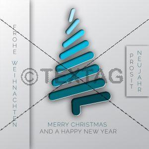 elektronische Weihnachtskarte für Geschäftspartner & Kunden.