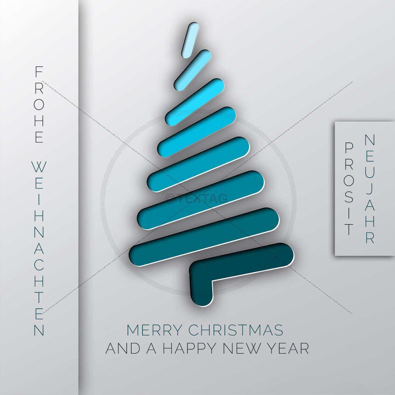 Stylische Weihnachtskarten.Extravagante Stylische Digitale Weihnachtskarte Ohne Werbung 383