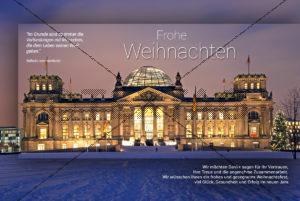 digitale, geschäftliche Weihnachts-E-Cards - Weihnachtsgrüße aus Berlin (0385)